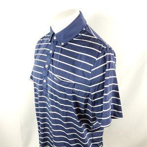 RLX Ralph Lauren Mens Golf Polo Shirt Large Blue